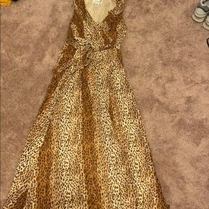Beautiful summer sun dress leopard cheetah 10